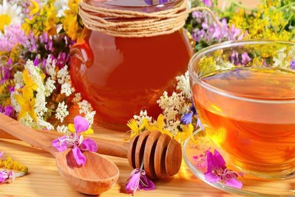 Trà saffron mật ong