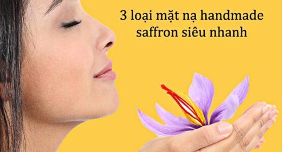 3 loại mặt nạ Saffron tự làm tại nhà